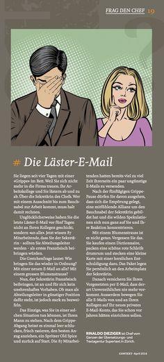 Die Läster-E-Mail