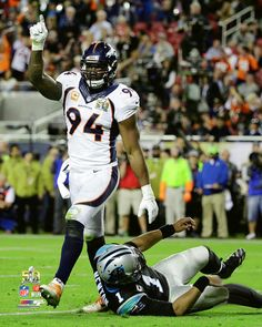 DeMarcus Ware Super Sacker Denver Broncos Super Bowl 50 Premium NFL Poster Print - Photofile 16x20