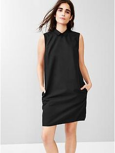 Gap - Sleeveless shift dress