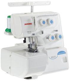 Máquina de coser Janome Overlock 8002D | Janome Uruguay
