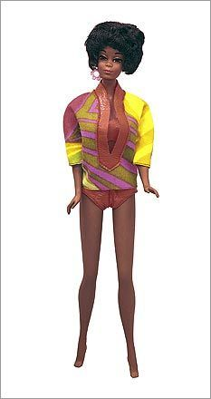 1968 The Barbie franchise branched out in 1968, introducing Christie, Barbie's first African-American friend.
