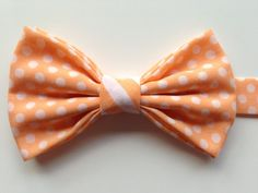 Kids Peach Polkadot