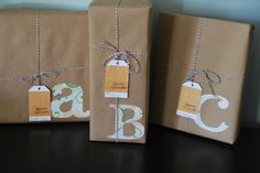 Simplified Gift Wrap!