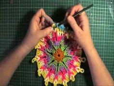 Overlay Crochet - Crochet loops round part 2