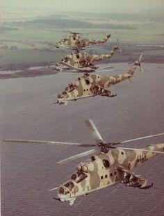 Mi-24 Hind Flight
