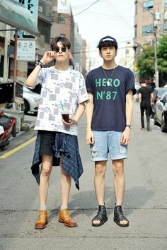 Streetstyle: Kim Wonjung and Park Jiwoon shot by Choi Seungjum