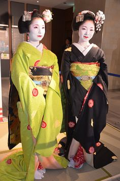 Two Beautiful Maiko