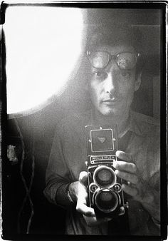 Richard Avedon: self-portrait.