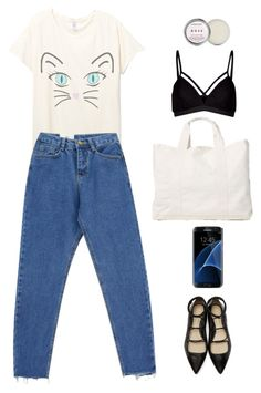 """""""broken heart dont care"""" by chintyar ❤ liked on Polyvore featuring Chicnova Fashion, James Perse, Lipsy, 3.1 Phillip Lim, Samsung, idk and simple"""