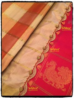 15 Best Kuchu Designs For Silk Saree - Tikli.in- Fashion and Beauty Trends, Designer Collections, Exclusive Deals, Bollywood Style and Saree Tassels Designs, Cotton Saree Designs, Saree Kuchu Designs, Wedding Saree Blouse Designs, Wedding Silk Saree, Silk Saree Blouse Designs, Silk Sarees, Indian Sarees, Peacock Embroidery Designs