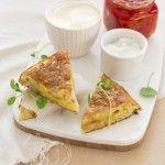 Tortilla pommes de terre – poivrons marinés - recette de la Bonne Box #labonnebox