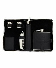 Traveling Flask Set - Brooks Brothers