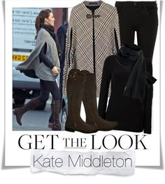 """""""Get The Look - Kate Middleton - Thanks Polyvore for including my set on Top Sets"""" by renatademarchi ❤ liked on Polyvore"""