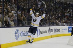 Bffalo Sabres Top Boston Bruins - Skinner   Eichel Score Twice 62ea8c232