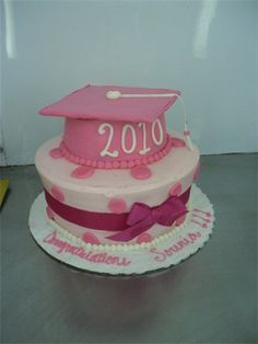 I want a cake like this when I graduate college. in purple or blue.