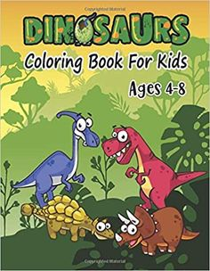 The Perfect Gift for Children's  Click the cover to see what's inside!  This Dinosaur Coloring Book Like This Coloring Dinosaurs Dot to Dot Activity Book For Kids to Improve Their Skills  Original Artwork made specifically for cute kids ages 4 - 8.  (Dinosaur Coloring Book) This is a fun and educational activity book for kids to use during the summer or school year! The book contains over <<Number>> activities like  This kid's activity book features:  <<Pages>> Surprise Gift  Draw & Be… Dinosaur Activities, Number Activities, Educational Activities, Book Activities, Kids Colouring, Adult Coloring, Coloring Books, Toddler Drawing, Gift Drawing