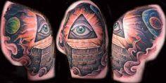 """Résultat de recherche d'images pour """"tattoo pyramide"""""""