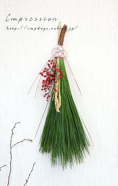 Impression Daysの画像|エキサイトブログ (blog) Christmas Fashion, Christmas Crafts, Xmas, Christmas Ornaments, New Years Decorations, Christmas Decorations, Holiday Decor, Corn Dolly, Japanese New Year