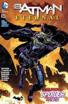 Spoiler goes head to head with her father, the deadly Cluemaster – and the fate of Gotham City hangs in the balance!