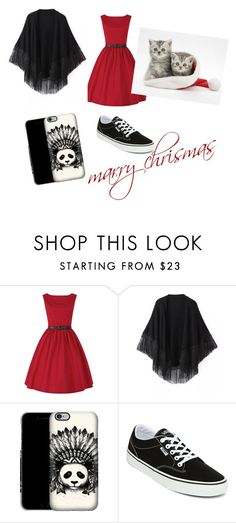 """""""chrismas"""" by hermi7 ❤ liked on Polyvore featuring Relaxfeel, Vans and chrismas"""