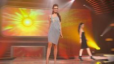 Lizzie's Gray Jersey Sheath Zipper Dress #FashionStar