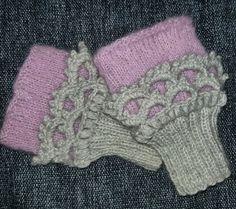 Strikka Pulsvarmere Knitted Handwarmers
