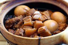 Braised Pork Belly in Soy Sauce (Tau Yew Bak) | Easy Delicious Recipes: Rasa Malaysia