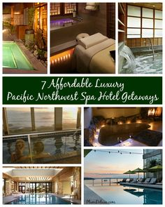 Spas plus the beautiful Pacific Northwest, boomers' will like these 7 Affordable Luxury Pacific Northwest Spa Hotel Getaways.