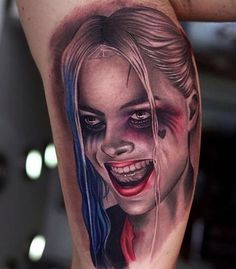 3f3cb03975e1c harley quinn tattoo