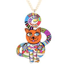ON SALE Pendant Cute Cat P011 - Get it here ---> https://www.missfashioned.com/pendant-cute-cat-p011/ - FREE Shipping - #fashion #jewelry #shopping #christmas #missfashioned