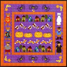 Halloween Row by Row BOM - The Cotton Patch
