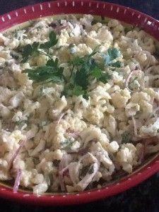 Cauliflower salad Litsa B recipes With Love!