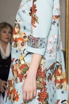 Autumn Blooming - Details from the Blugirl Fall Winter 2015/2016 Fashion Show Collection #mfw