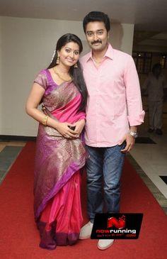 Sneha & Prasanna at G.V. Prakash Kumar and Saindhavi Wedding Reception