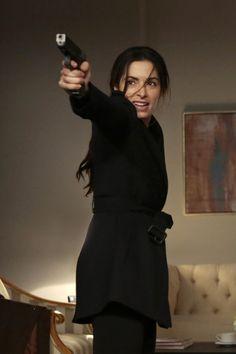 Amy Acker (Root) | Sarah Shahi (Shaw) | S3-S4 BTS...