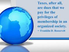 FDR on Taxes