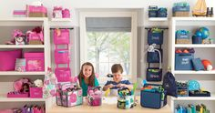 Thirty-One Playroom Organization, perfect for boys and girls! We can help organize your life, whether it's your home, office or car! #31 #thirtyone http://www.mythirtyone.com/amywilson825