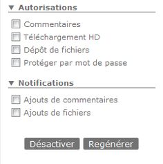 Authorizations and notifications