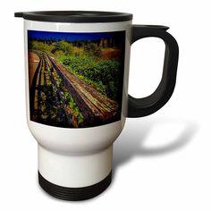 #coffee #mug #drivesafe #commuter #travel #cup #drink #gifts #art #beverage #hotAmazon.com: DYLAN SEIBOLD - PHOTOGRAPHY - ROTTEN RAILING - 14oz Stainless Steel Travel Mug (tm_244555_1): Kitchen & Dining