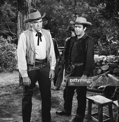 BONANZA -- 'The Outcast' Episode 17 -- Aired 1/9/60 -- Pictured:... News Photo | Getty Images