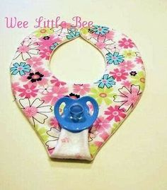 Image result for pacifier bib pattern free