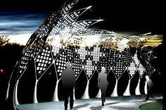 OLED Membrane Solar powered street lighting concept_1