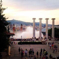 Font de Montjuïc #Barcelona