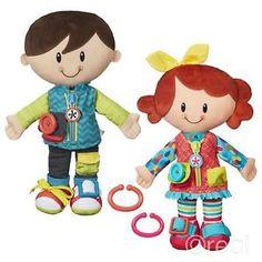 Resultado de imagen para playskool boy and girl dressed
