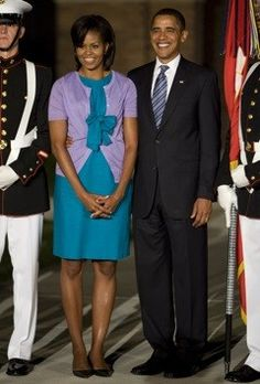 First Lady, Michelle Obama & The President of the United States of America, President Obama.. *SUPPORT THE PRESiDENT = SUPPORT THE CONSTiTUTiON.*