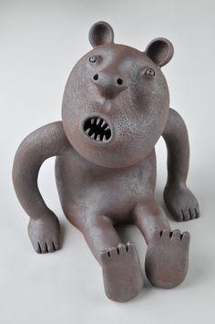Ceramics by Chiu-i Wu via Ceramic Art York.