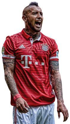 Arturo Vidal topaz png by beastieblake.deviantart.com on @DeviantArt