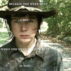 The Walking Dead   I Chandler Riggs   I Carl