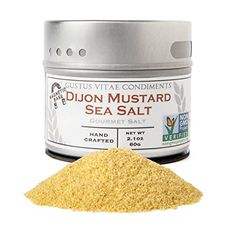 Dijon Mustard Sea Salt NonGMO Gourmet -- You can find more details by visiting the image link. Vodka And Pineapple Juice, Vodka Lime, Infused Vodka, Lime Juice, Gourmet Salt, Gourmet Popcorn, Bloody Mary Bar, Pop Corn, Cranberry Juice