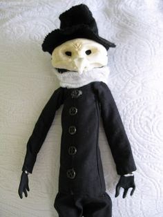 Plague Doctor Doll